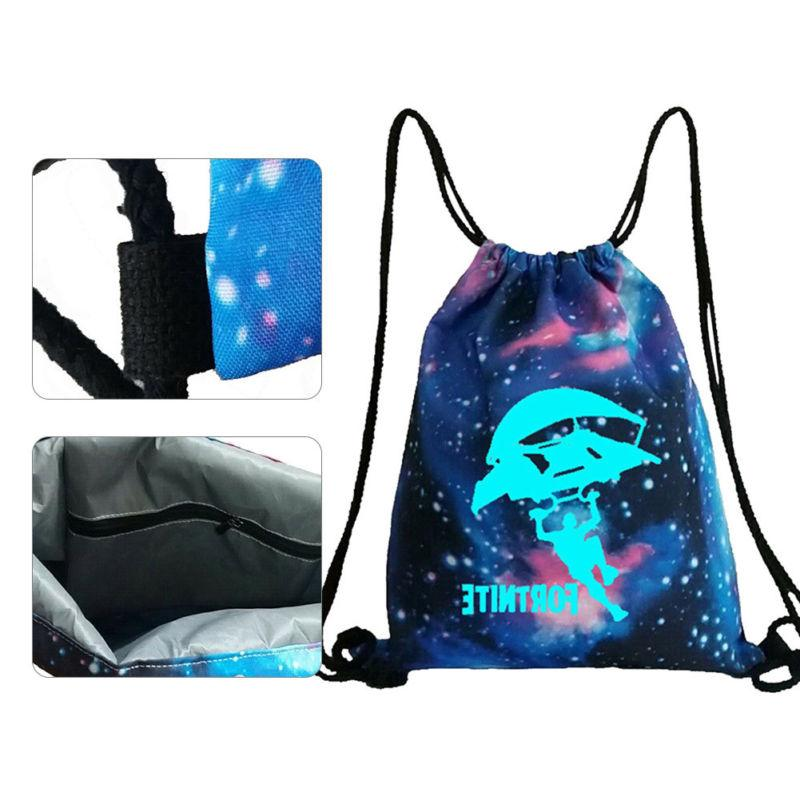 Fortnite Unisex Backpack Gym Bag in Dark COOL