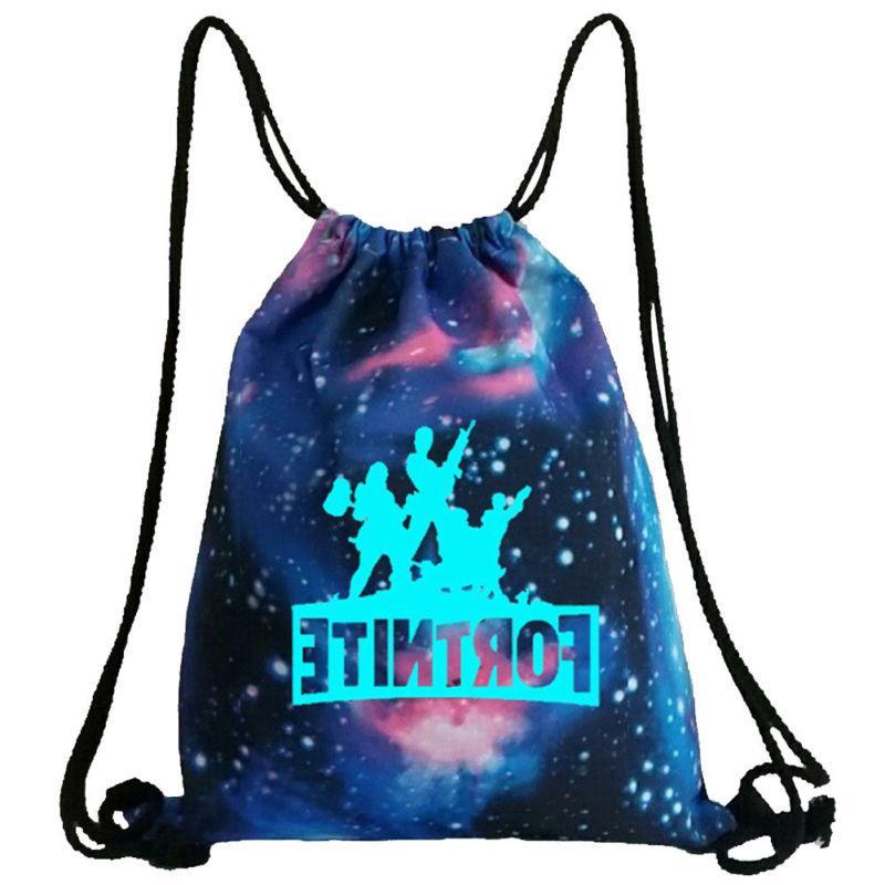 Fortnite Backpack Gym Drawstring in Dark COOL