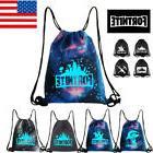Fortnite Unisex Backpack Swimming Gym Drawstring Bag Glow in
