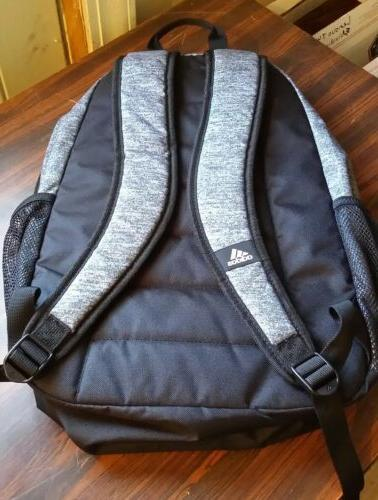 adidas Foundation Iv Backpack, Onix Jersey/Black, Size