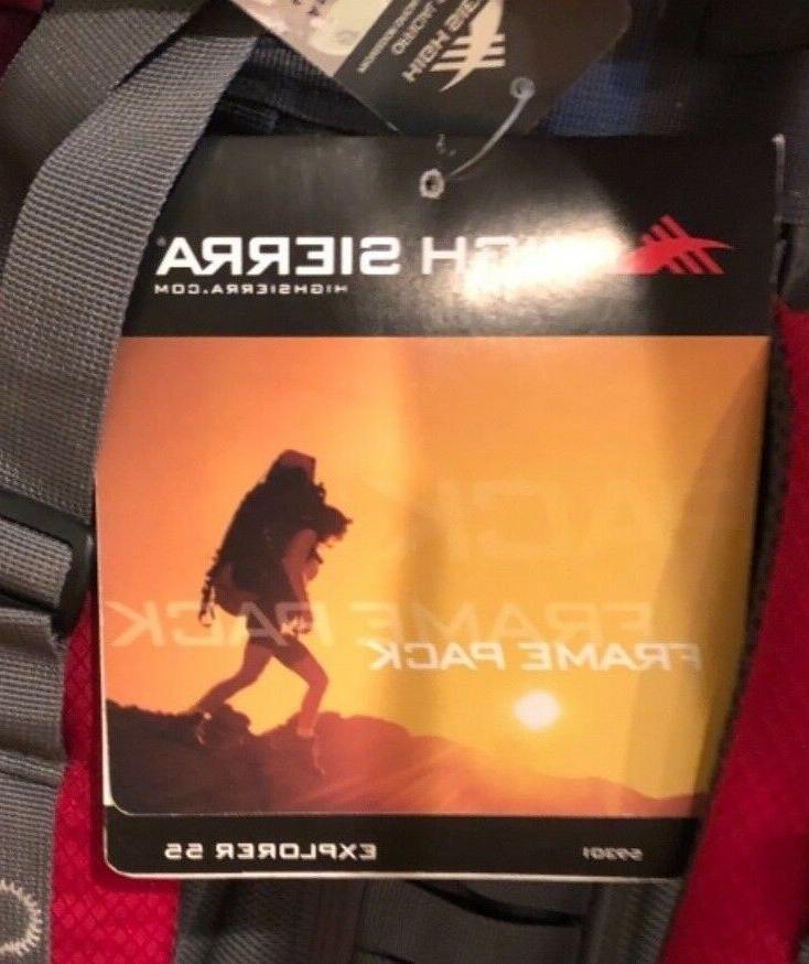 """High Sierra Frame - Explorer 55 """"Angry"""