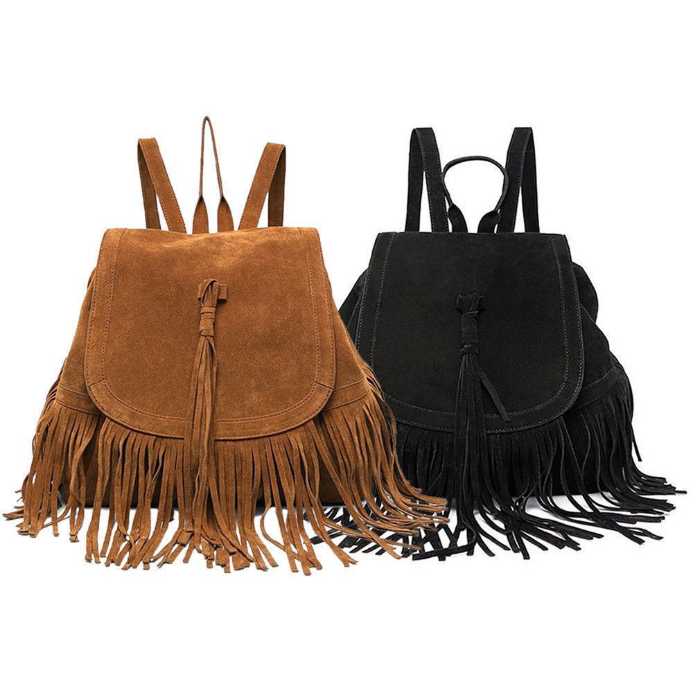Fringe Tassel Handbag Shoulder Bags Tote Purse Messenger Sat