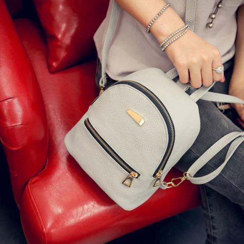Girl PU Backpack Backpack for Popular