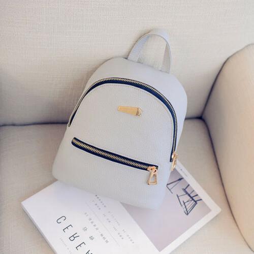 Girl PU Backpack Mini Travel Backpack Purse Popular