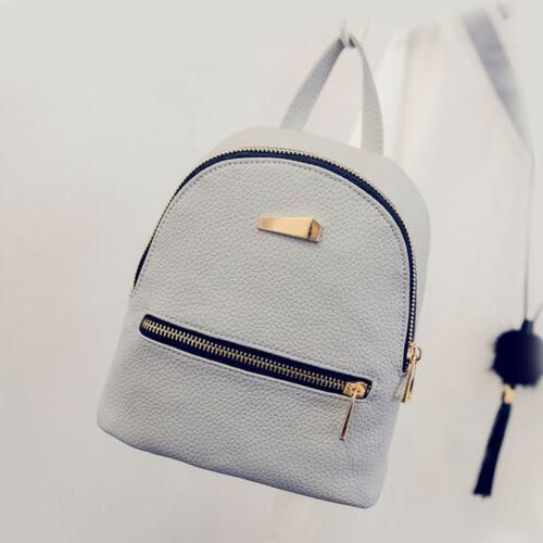 Girl Bag PU Leather Backpack Mini Backpack Purse for Popular