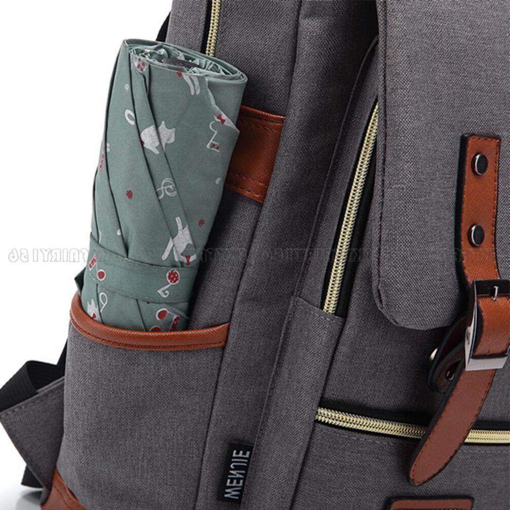Canvas Travel Backpack Rucksack for Women