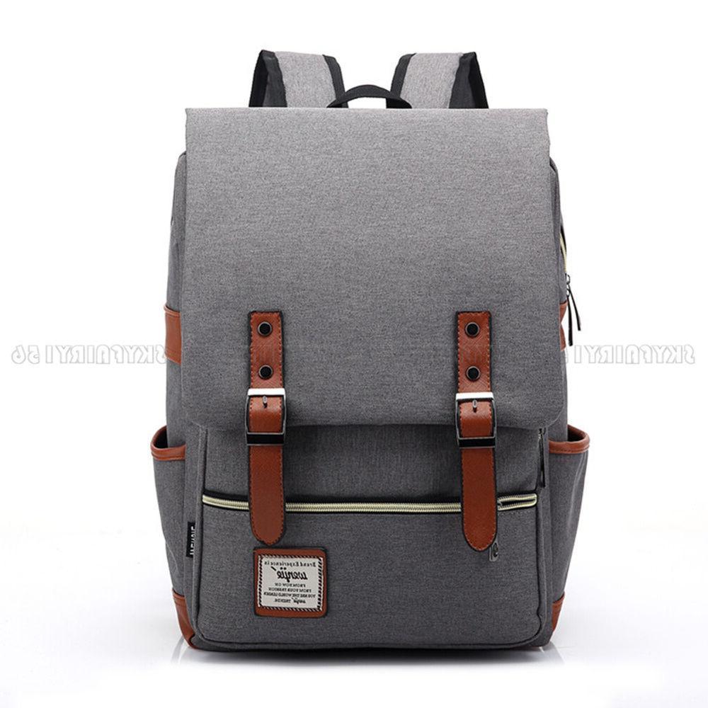 Canvas Backpack Rucksack
