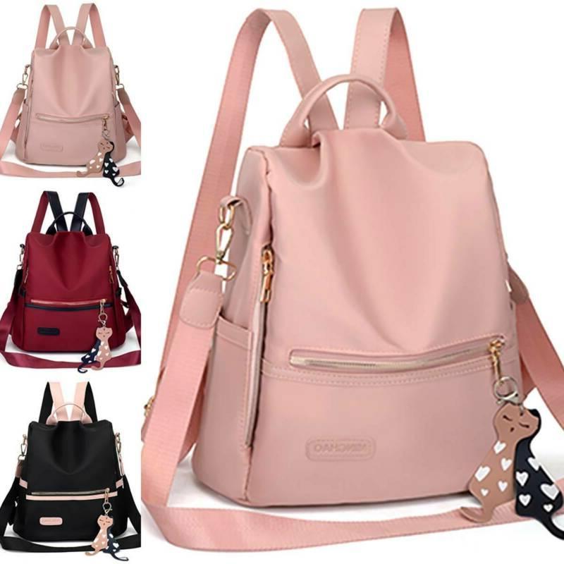 Girls Anti-Theft Backpacks Rucksack Handbags School Travel F