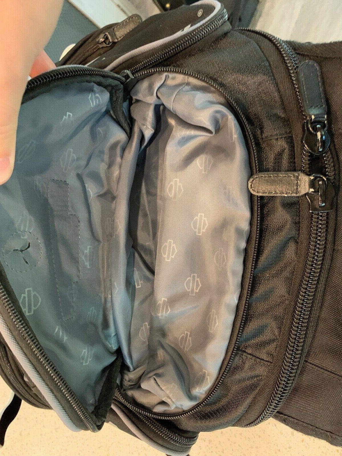 Harley-Davidson Deluxe Black & Backpack