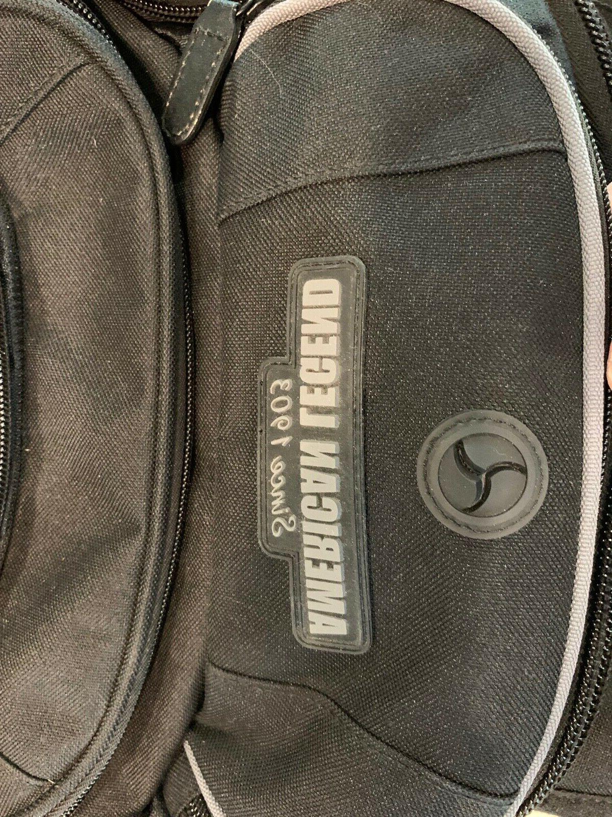 Harley-Davidson Deluxe Black & Gray Backpack