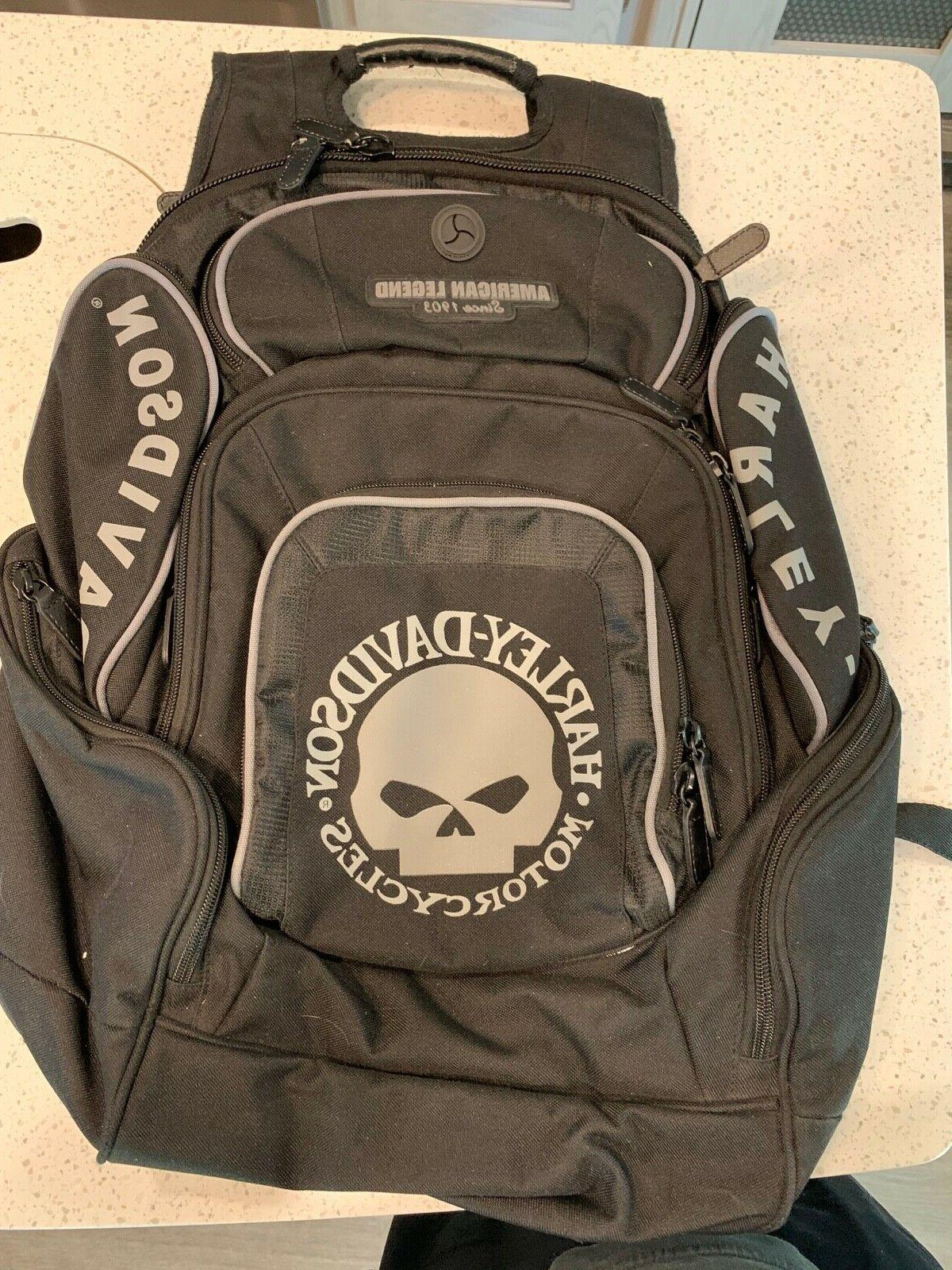 harley davidson mens deluxe black and gray
