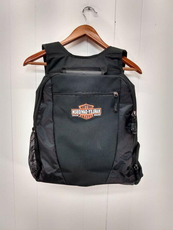harley davidson nwot black backpack with laptop
