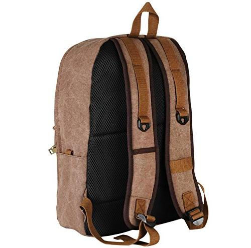 Heavy Duty Canvas Quality Backpack Fashion Designer...
