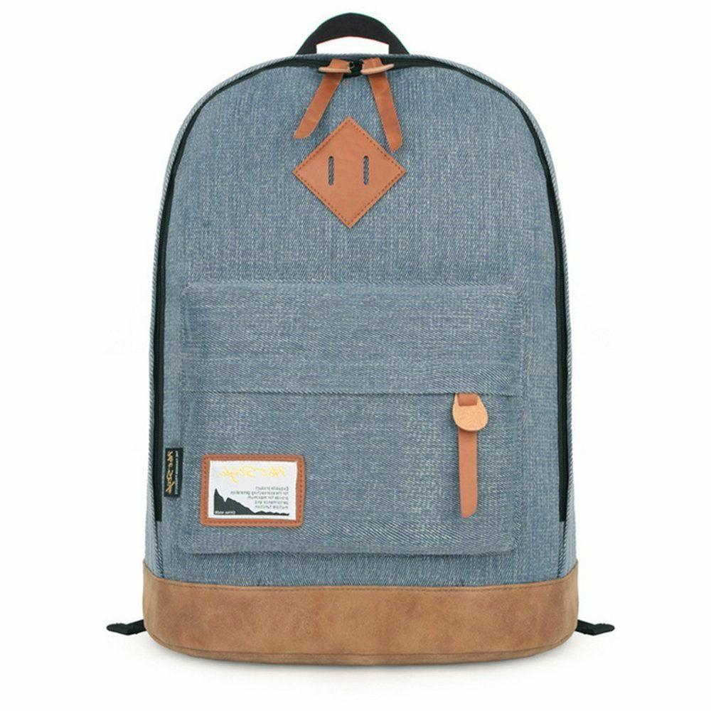 ht92005 classic college backpack canvas backpacks bag