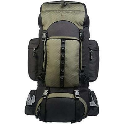AmazonBasics Internal Frame Hiking Backpack with Rainfly, 55