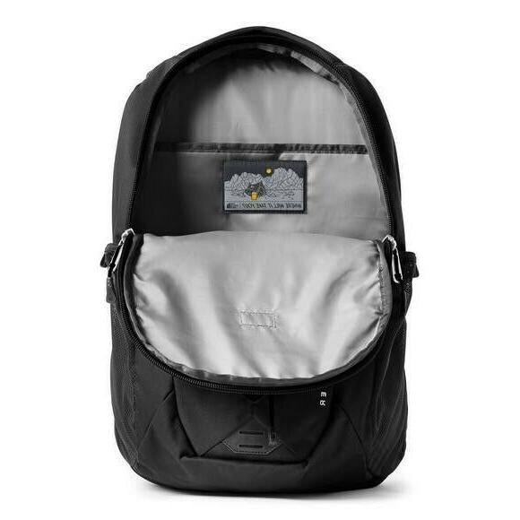 The North Jester Black Backpack New - Free