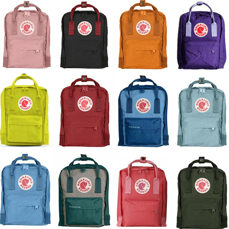 kanken mini size backpack choose your color