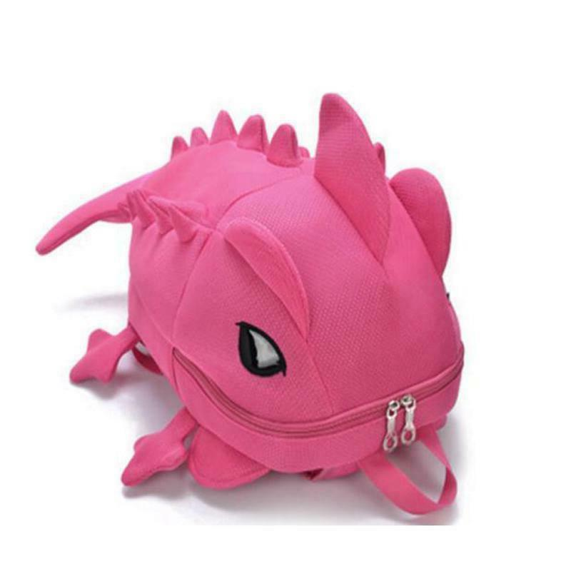 kids backpack dinosaur children 3d animal student