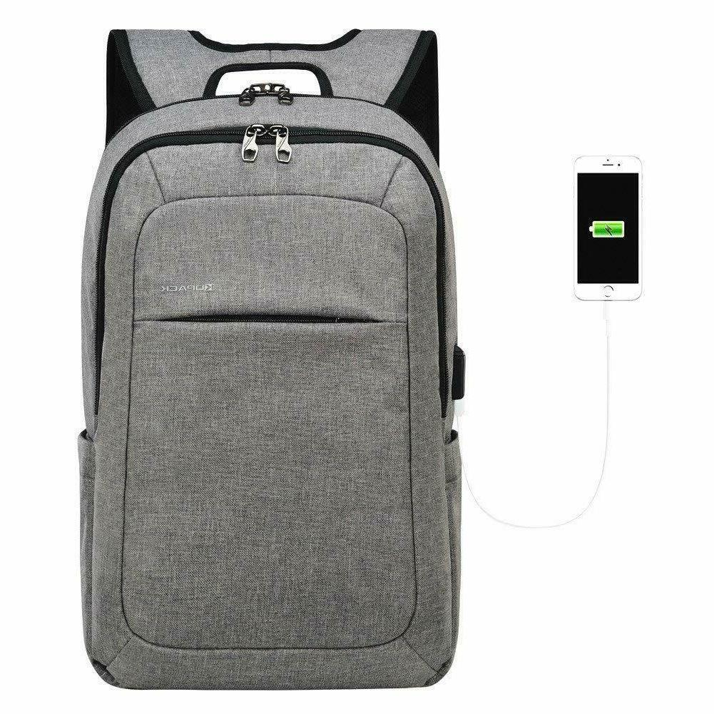 kopack slim laptop backpacks anti thief tear