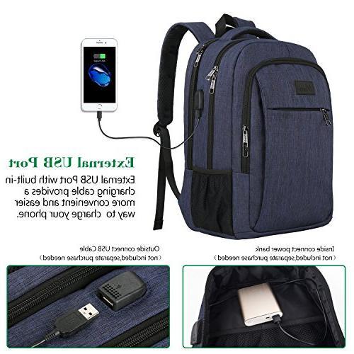 Laptop with Charging Travel with Compartment Men and Resistant College School Bag Girls and Laptop,Macbook