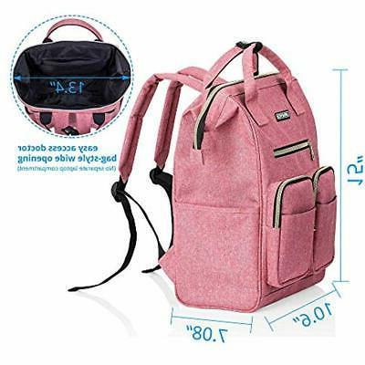 Laptop Backpack For Women, Lightweight Womens Travel Wide Open Capacity
