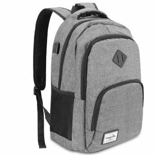 Laptop Backpack Travel Backpack with USB Anti Thief