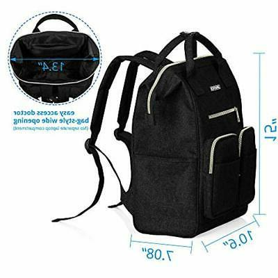 Laptop Backpacks Backpack For Women, Wide Open Large