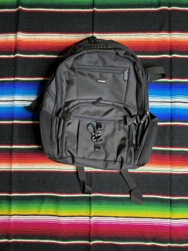 laptop computer backpack black