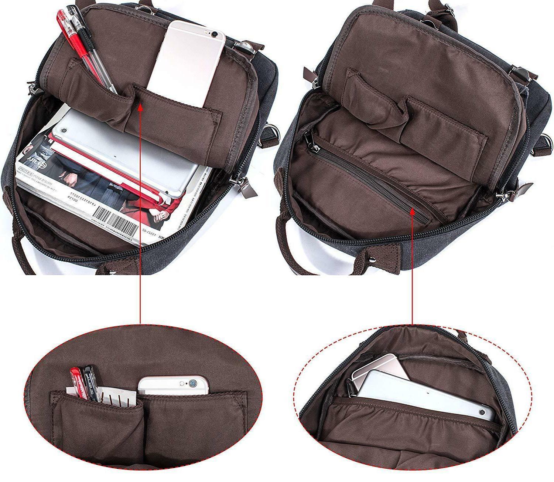 Leaper Canvas Sling Bag Shoulder Bag L