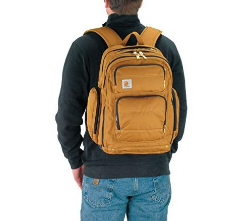 Carhartt Deluxe Backpack with 17-Inch Laptop Compartment,