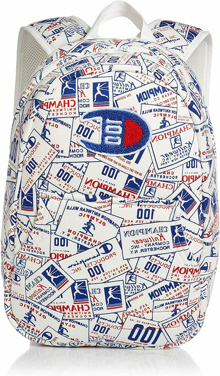 Champion LIFE 100 Year Icon Pullover Backpack NWT Back Pack