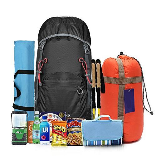 G4Free Large 40L Lightweight Water Resistant Travel &