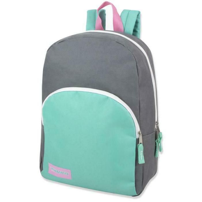 Lot 15 Inch Promo Backpacks for Assorted Block Colors