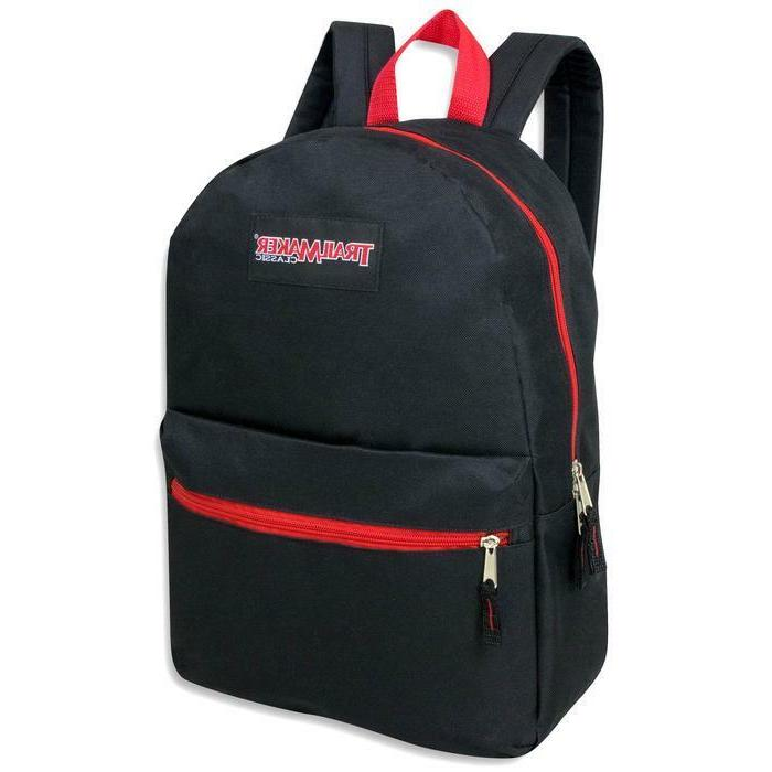 Lot of 24 TrailMaker Backpacks Pop Color Trims