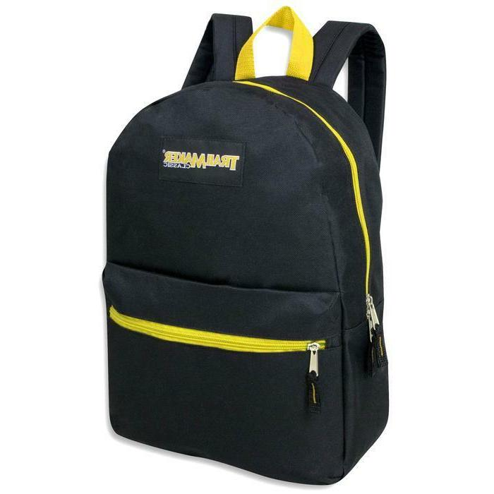 Lot of 24 TrailMaker 17 Inch Backpacks 5 Color