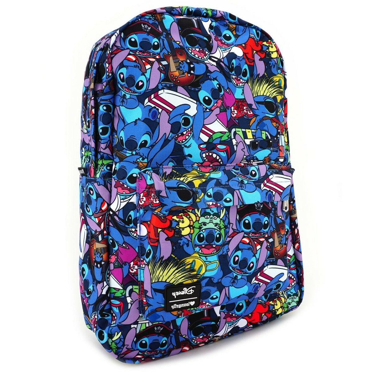 Loungefly Lilo and Stitch Costume Book Bag Backpack