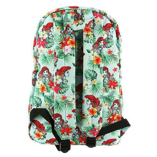 Loungefly Mermaid Backpack Princess Tropical Floral