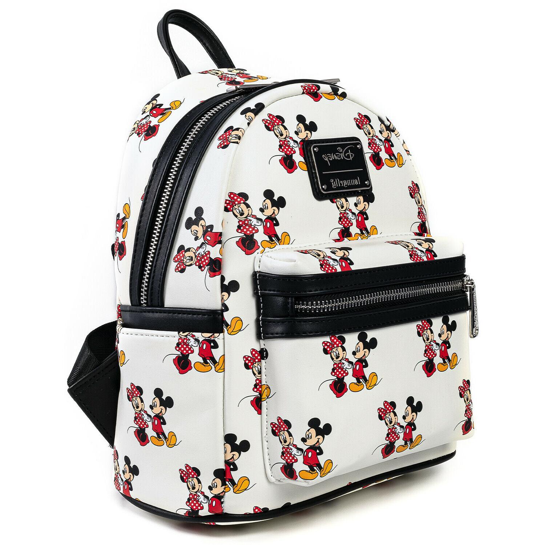 Loungefly Minnie Print Backpack