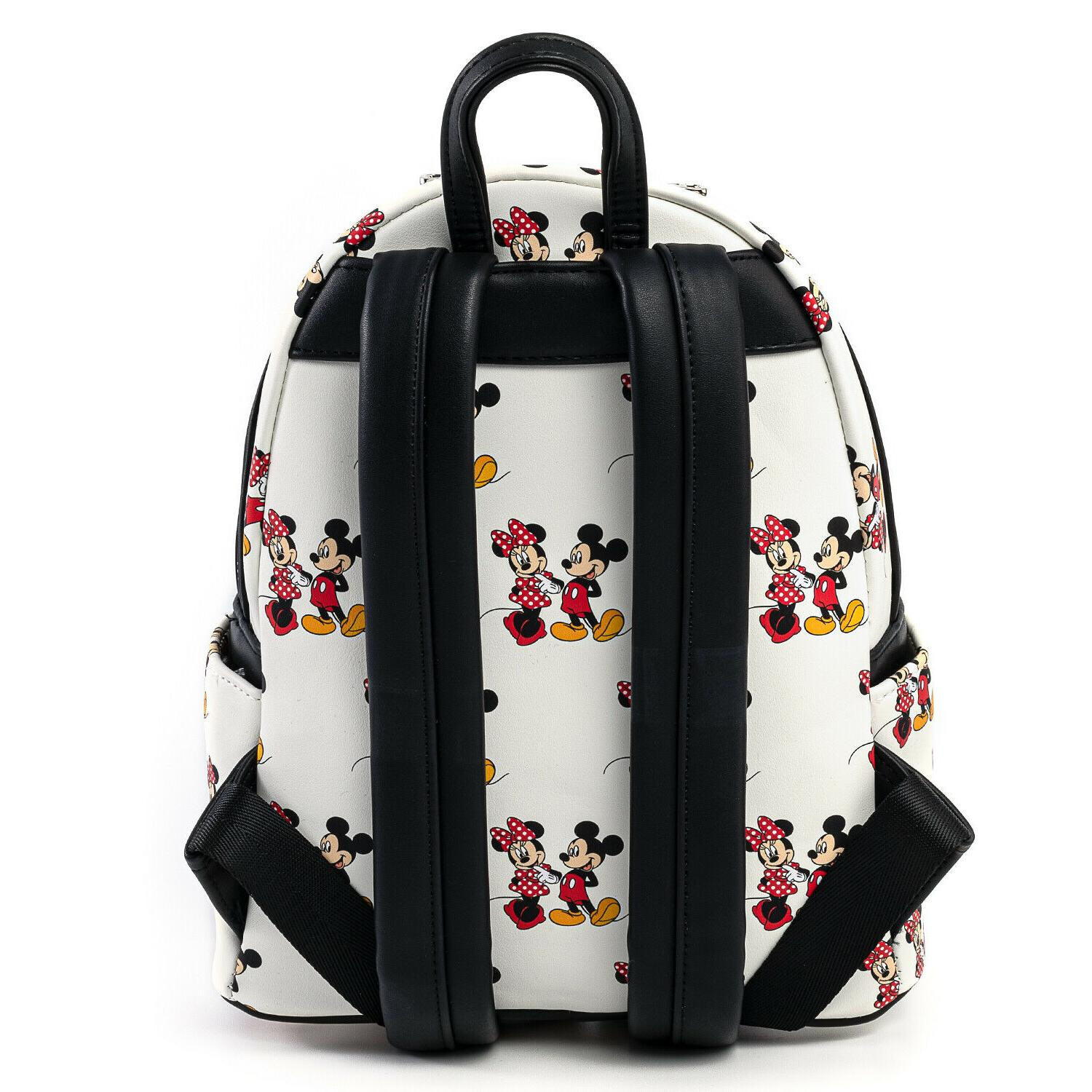 Loungefly Mickey Minnie All Print Mini Backpack Exclusive!