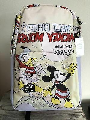 loungefly mickey mouse donald duck hawaiian holiday
