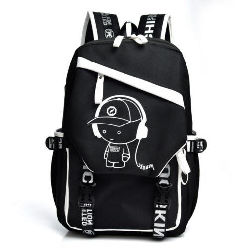 Luminous Anti Bookbag Cool Shoulder Bag Boys Gift