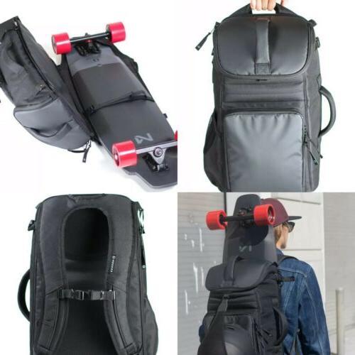 m1 electronic skateboard longboard boardpack backpack board