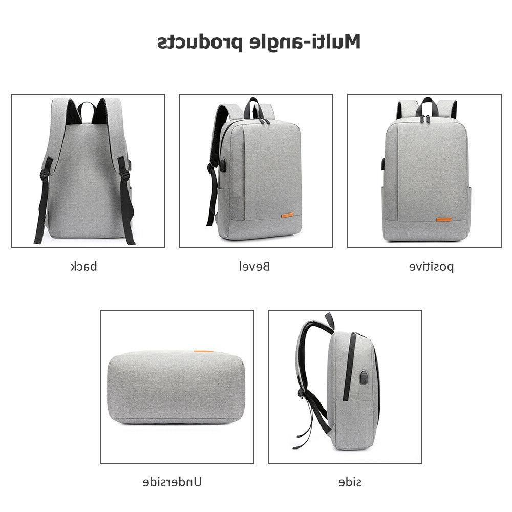 Men Anti-theft with Charger Notebook Travel