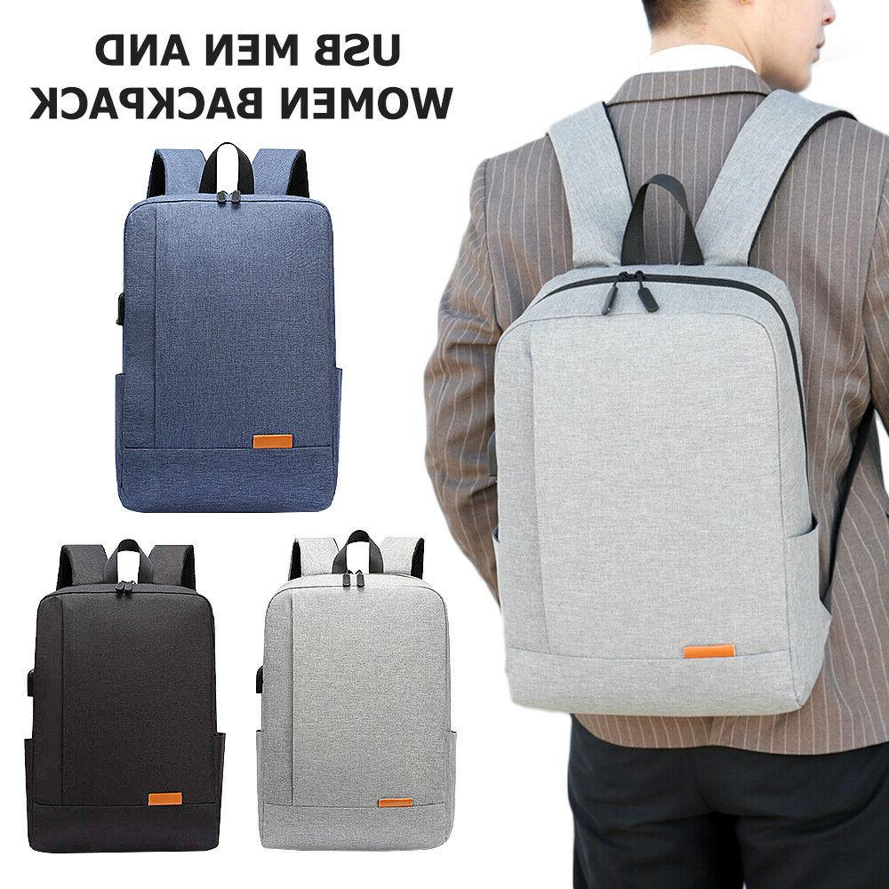 Men USB Charger Notebook Travel