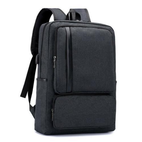 "Anti-theft Men Backpack 16"" Laptop Travel School Shoulder Bo"