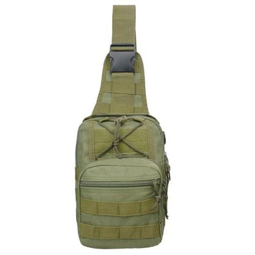 Men Molle Sling Chest Bag Pack
