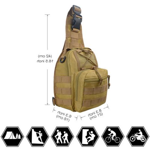 Men Backpack Sling Chest Pack