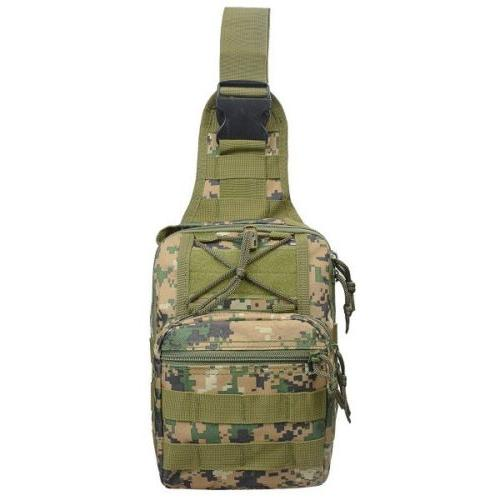 Men Molle Sling Chest Pack Messenger