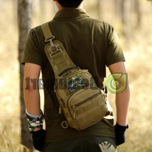 Tactical Chest Bag Men's Sling Messenger Shoulder Pack
