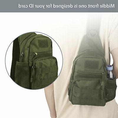 Men Sling Chest Shoulder Bag Outdoor Hiking